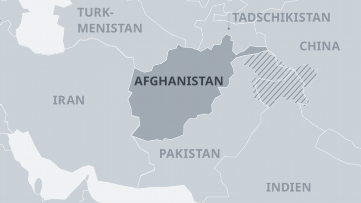 Afghanistan is a state of many peoples with even more neighbours (photo: DW)