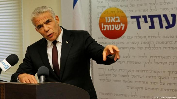 Israeli Foreign Minister Yair Lapid (photo: Gil Cohen-Magen/AFP)