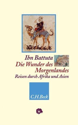"Cover of ""Ibn Battuta - Wunder des Morgenlandes"" (source: C.H. Beck)"