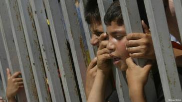 Palestinian children in the West Bank (photo: imago/Xinhua)