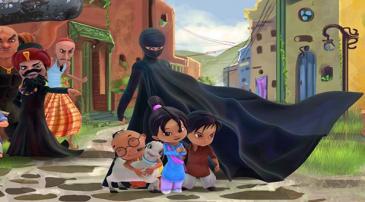 Scene from Burka Avenger (image: PR)