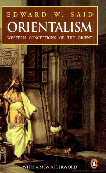 Cover of Edward Said's Orientalism (source: Penguin)