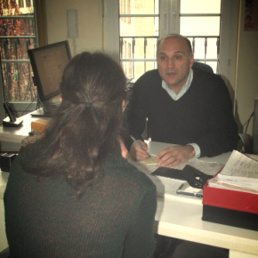 Hidir Çelik, head of the Evangelical Immigrant and Refugee Work in Bonn (photo: Julie Schwannecke)