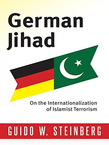 "Cover of ""German Jihad"" by Guido Steiberg (image: Columbia University Press)"