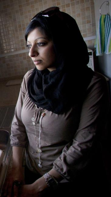 The human rights activist and blogger Zainab Al Khawaja from Bahrain (photo: Connor McCabe/Bahraini Activist/INeverCry/Wikipedia)