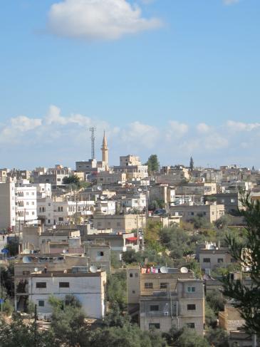 Die jordanische Stadt Irbid; Foto: Claudia Mende