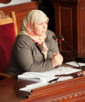 Mehrezia Laabidi (photo: DW/S. Mersch)