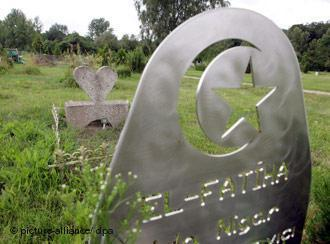 The Muslim cemetery in Berlin-Gatow (photo: picture-alliance/dpa)