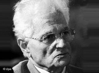 The French philosopher Jacques Derrida (photo: dpa)