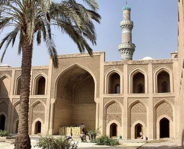 Ansicht der Al-Mustansiriya-Universität in Bagdad; Foto: Wikimedia Commons