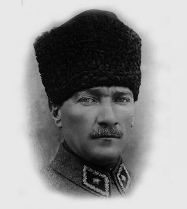 "Portrait of Mustafa Kemal ""Atatürk"". Photo: Wikimedia Commons"