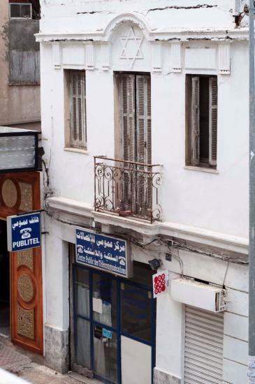 An unused synagogue in Tunis (photo: Sarah Mersch)