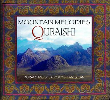 "Cover of Quraishi's album  ""Mountain Melodies"" (photo: Evergreene Music)"