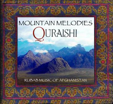 "Cover of Quraishi's album  ""Mountain Music"" (photo: Evergreene Music)"