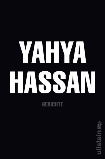 The cover of the German-language edition of Yahya Hassan's poetry (source: Ullstein-Verlag)