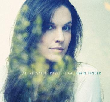 "Cover of Simin Tander's album ""When Water Travels Home"" (photo: simintander.com)"