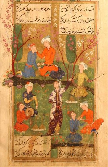 Page from the Divan of Hafez (photo: Wikipedia)