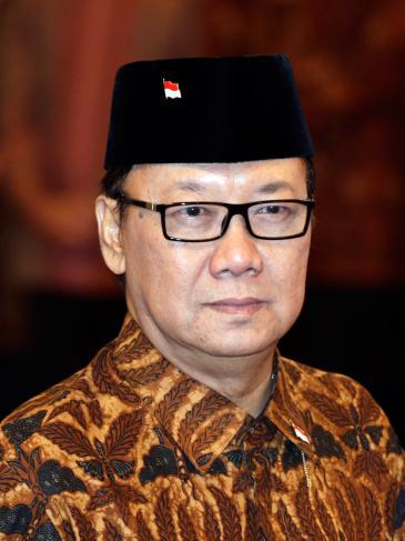 Indonesia's Minister of the Interior Tjahjo Kumolo (photo: picture-alliance/epa/M. Irham)
