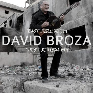 "Cover of the album ""East Jerusalem/West Jerusalem"" by David Broza"