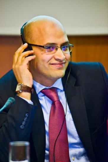 Khalil al-Anani (photo: Johns Hopkins School of Advanced International Studies)