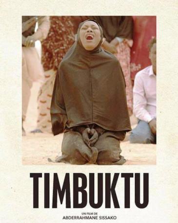 """Film poster for Abderrahmane Sissako's film """"Timbuktu"""""""
