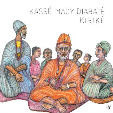 """Cover of the CD """"Kirike"""" by Kasse Mady Diabate"""