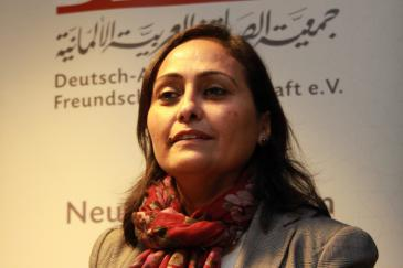 Professor Amal El-Obeidi (photo: DAFG)