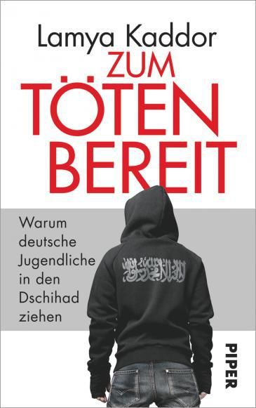 "Cover of Lamya Kaddor's book ""Willing to kill. Why German youths are joining the jihad"" (published by Piper Verlag)"
