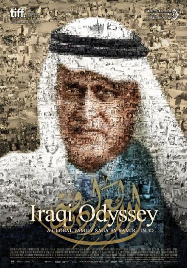 "Film poster for Samir's film ""Iraqi Odyssey"""