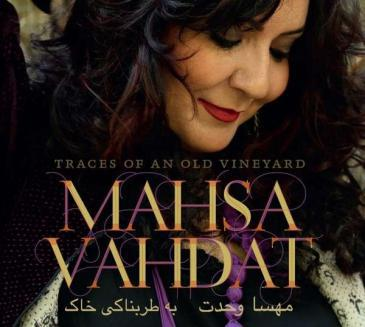 "Cover of Mahsa Vahdat's CD ""Traces of an old vineyard"""