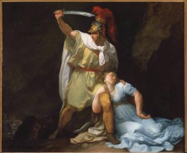 "The painting ""Radamisto kills Zenobia"" by Luigi Sabatelli (photo: picture-alliance/Luisa Ricciarini/leemage)"