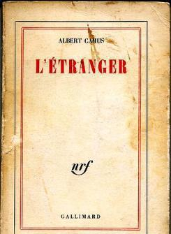 "Cover of the French edition of ""L'Étranger"" by Albert Camus (source: Gallimard)"