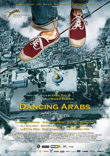 "Poster for the film ""Dancing Arabs"""
