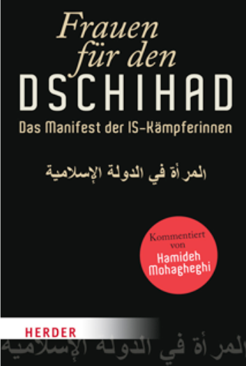 """Cover of """"Frauen für den Dschihad"""" (source: Herder)"""