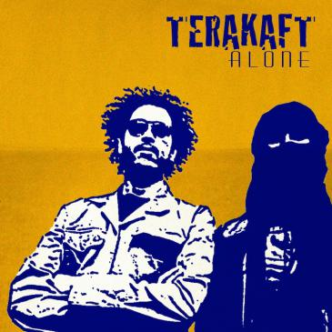 """Cover of the album """"Alone"""" by Terakaft (source: Outhere records)"""
