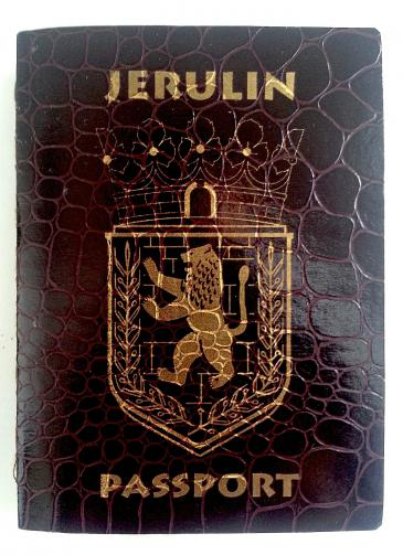 Jerulin passport (photo: Guy Briller)