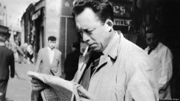 Albert Camus 1959 in Paris; Foto: STF/WAP/Getty Images