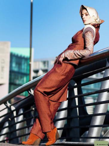 Fashion for conservative Muslimas (photo: arturwiens.de)