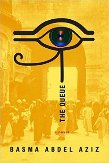 "Cover of Basma Abdel Aziz's ""The Queue"" translated by Elisabeth Jaquette (published by Melville House)"