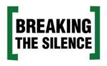 Breaking the Silence logo (source: Twitter)