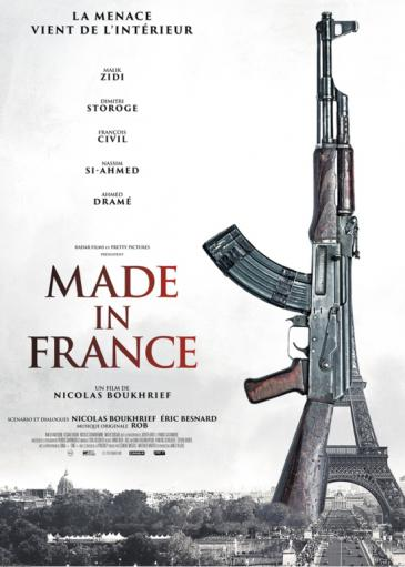 "Poster of the film  ""Made in France""; source: Pretty Pictures/Radar Films"