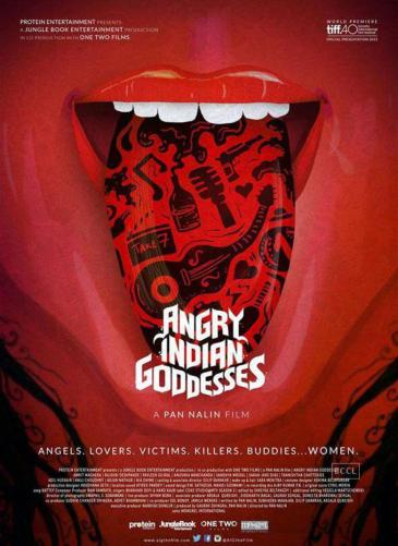 """Angry Indian Goddesses"" film poster"