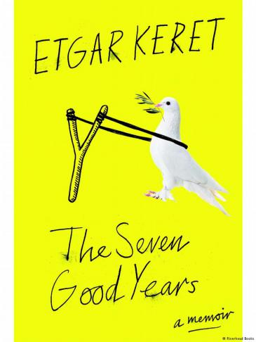 "Cover of Keret's memoir ""The Seven Good Years"" (published by Riverhead Books)"