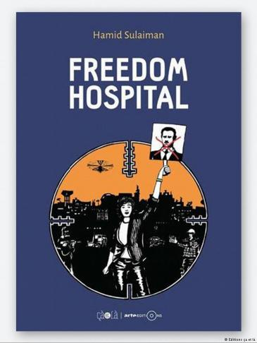 Cover of ″Freedom Hospital″ (published by Editions ca et la)