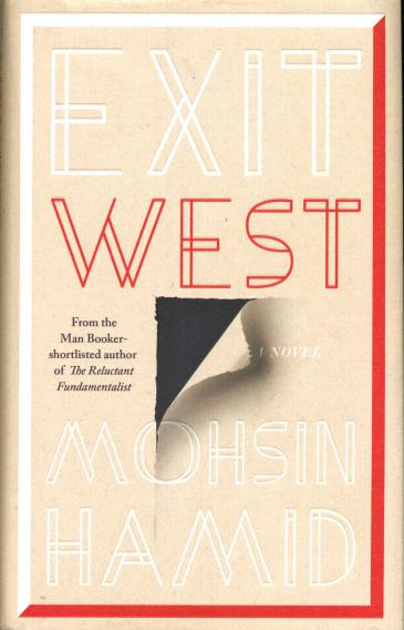 "Cover of Mohsin Hamid's ""Exit West"" (published by Riverhead Books)"