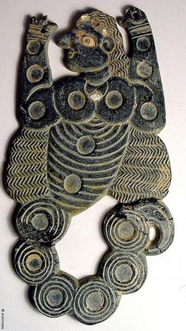 Archaeological find from Jiroft (photo: mehrnews, Hossein Kermani)