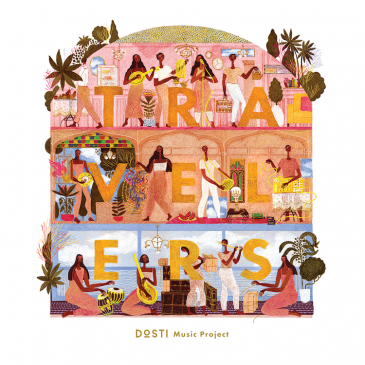 "Cover of The Dosti Music Project's ""Travelers"" (released by Found Sound Nation)"