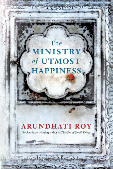"Cover of Arundhati Roy′s ""The Ministry of Utmost Happiness"" (published by Hamish Hamilton)"