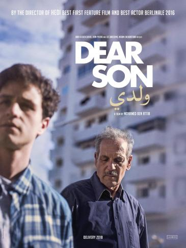 "Film poster for Mohammed Ben Atiaʹs ""Dear Son"" (distributed by BAC Films)"