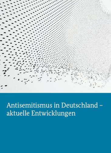 Cover of the Federal Government's anti-Semitism report